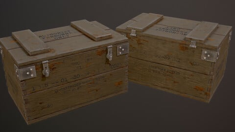 WW1 Ammo Crate