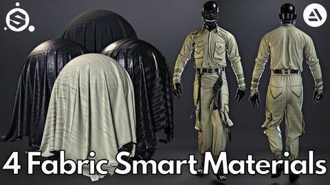 4 Fabric smart material : Boiler suit