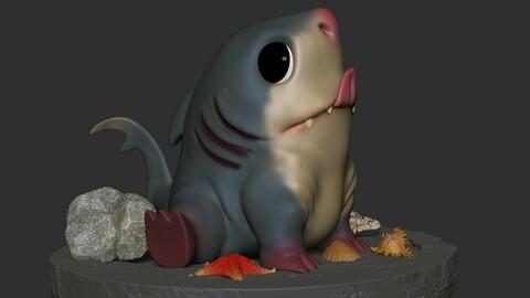 King Shark Cute