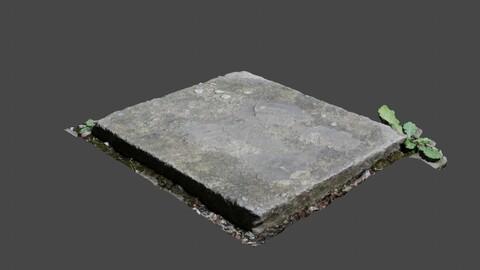 Rectangle Concrete Block - Photoscan