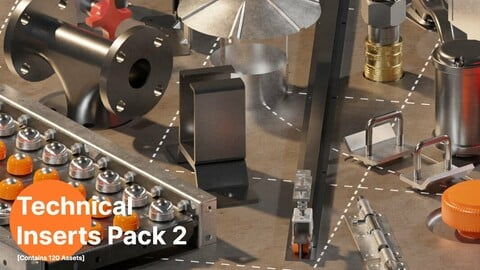 Technical Inserts Pack 2 [150 inserts]