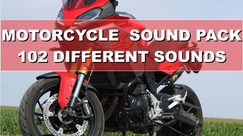 Motorcycle Soundpack - 102 Different Sounds