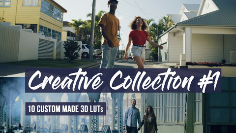 Creative Collection LUTs | Professional Color Grading LUTs for Final Cut, Premiere Pro, DaVinci Resolve, Photoshop and more