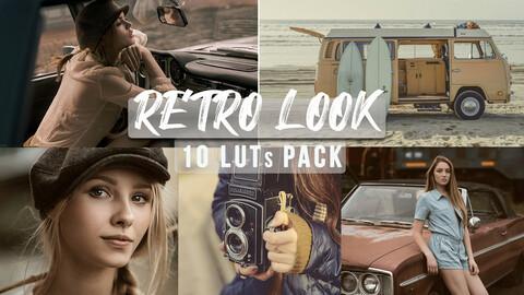 Retro Look Vintage LUTs / Video LUTs