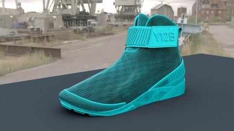 Simple model of sneakers