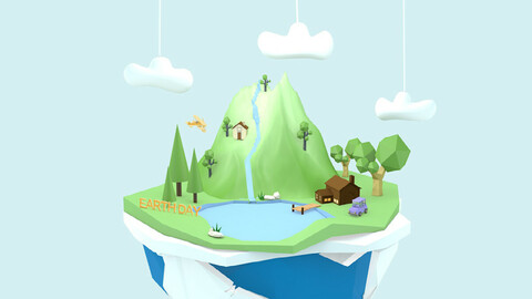 sland small house floating mountain floating island floating island island