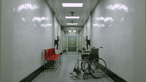 [FREE] Hospital Corridor - UE4 Project File