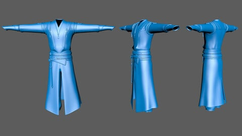 Chinese style ancient men's clothing A