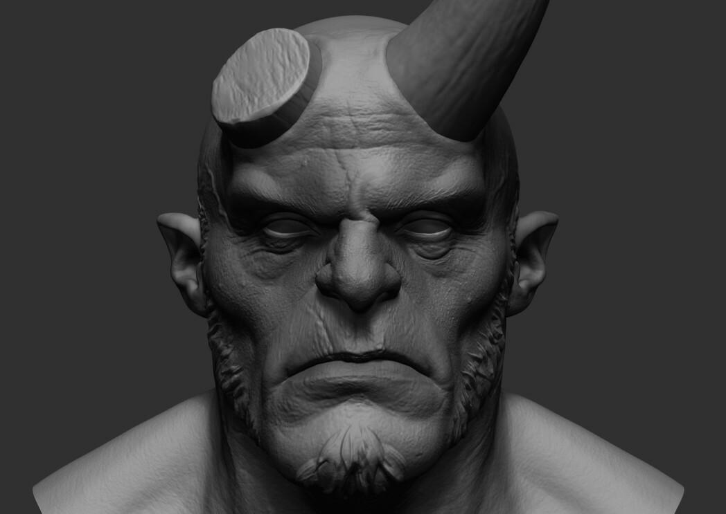 ArtStation - Hellboy 02   Resources