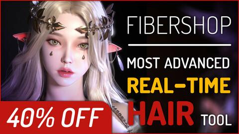 FiberShop | Realtime Hair Card Texturing Tool