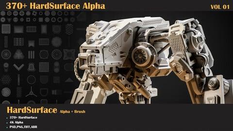 370+ HardSurface Alpha-VOL 01