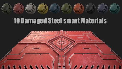 10 Damaged steel smart materials