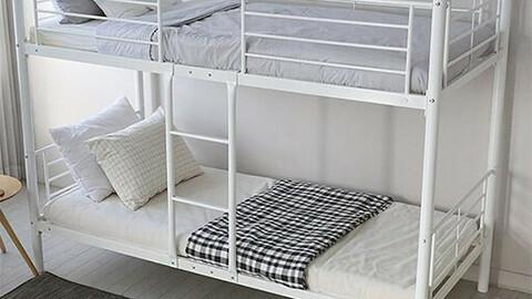 Cozy Separate Bunk Bed