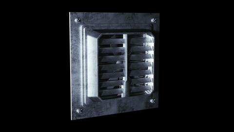 Sci-Fi Metal Ventilation Shaft