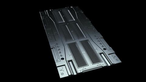 Sci-Fi Floor Tiles