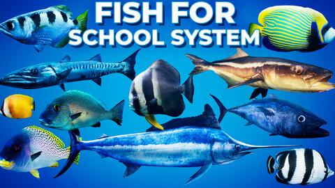 Fish for Fish School System UE4