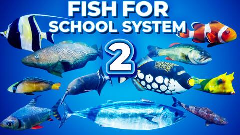 Fish for School System 2 UE4