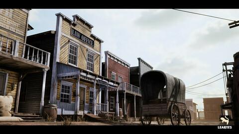 Western Town / Village Pack