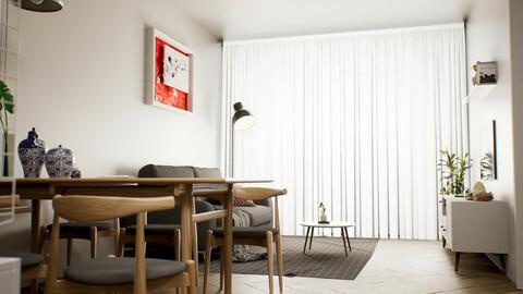Modern Apartment - UE4 | FBX | 3DS