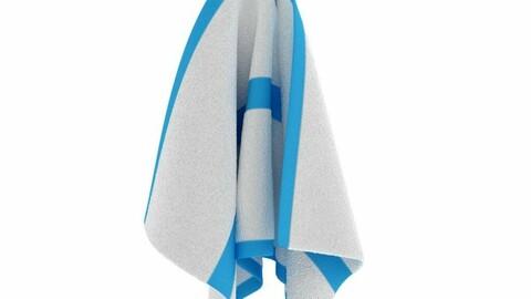 Virtual reality towel Wipes hand towels scarves bathroom shawl
