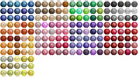 Bead Cut Gems 48x48