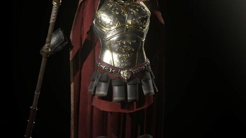 Spartan Kingly Armor Set