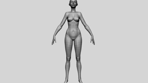 Female Basemesh 02