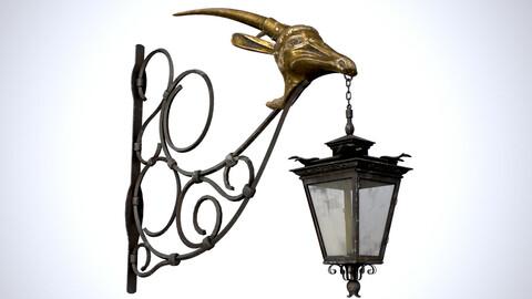 Old Street Lantern / Goat Design