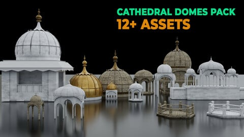 Cathedral Domes Asset Pack