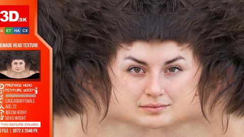 FREE Female High Res Head Texture 0007