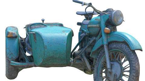 370 Old motorcycle