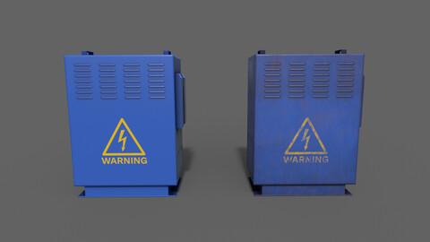 PBR Electric Box (Blue) Ver.3