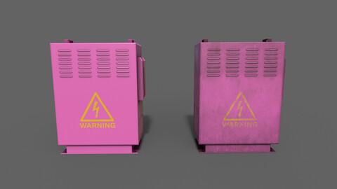 PBR Electric Box (Pink) Ver.3