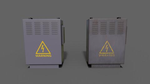 PBR Electric Box (Purple) Ver.3