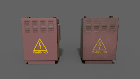 PBR Electric Box (Red) Ver.3