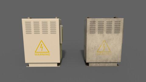 PBR Electric Box (BoneWhite) Ver.3