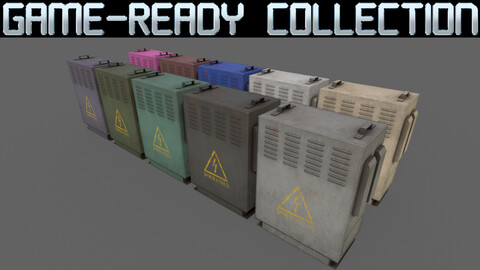 PBR Electric Box Ver.3 - Collection