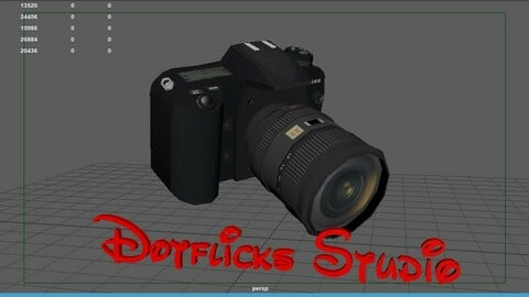 3d Electronics Low and High poly  model Service