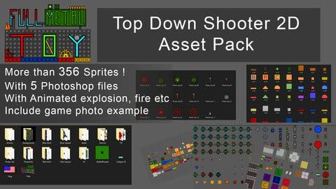 Top Down Shooter Asset Pack