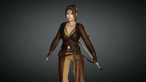 Fantasy Female Character 04