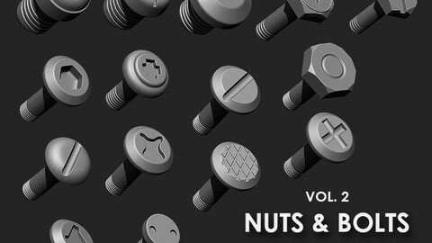 Nuts & Bolts IMM Brush Pack (15 in One) Vol. 2