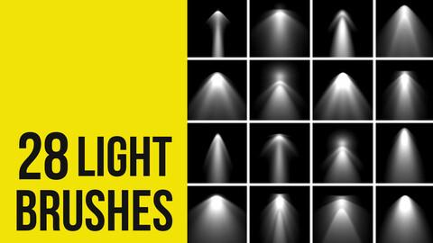 Light Brushes for Photoshop
