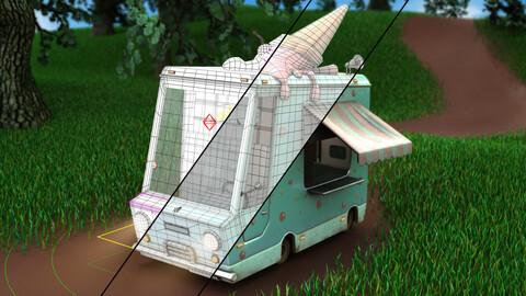Ice Cream Truck Rig