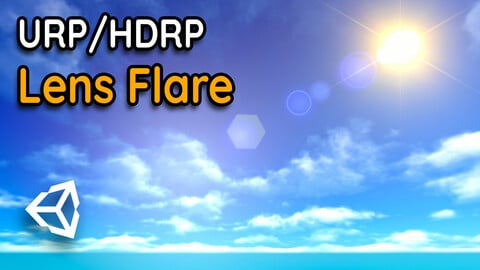 Lens Flare in Unity URP / HDRP