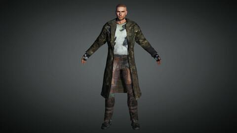 Apocalypse Male Character 01