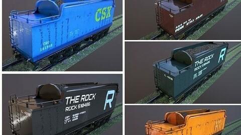 Train Hopper car
