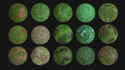 Pack Stylized Texture 4