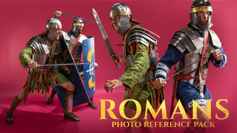 Romans Photo Reference Pack For Artists 578 JPEGs