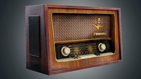 Old vintrage used Radiogram grundig radiola