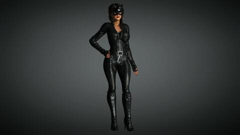 Comics Character 01 (Cat Woman)